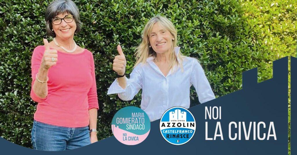 Maria Gomierato Sindaco e Azzolin: noi, la civica